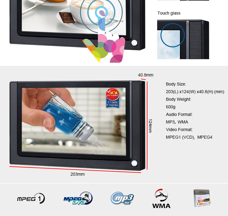 Point Of Purchase Signage Programming Lcd Display