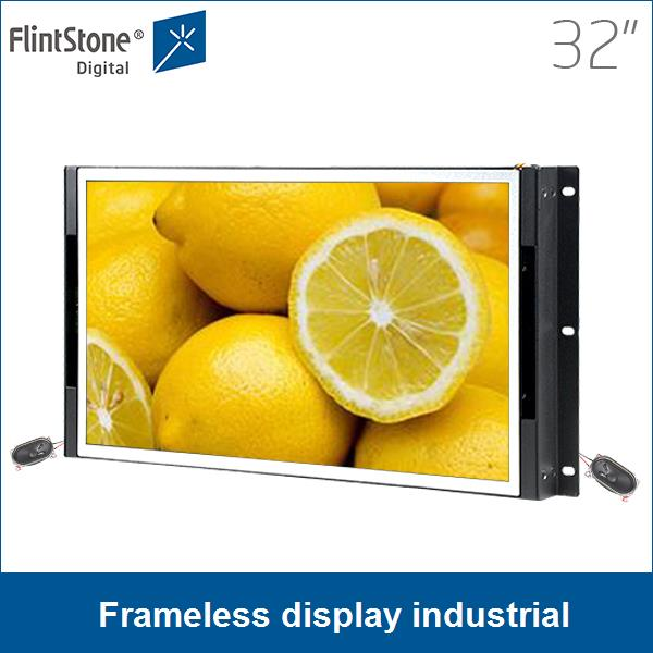 32 inch lcd panel hdmi, led panel rgb display , open frame monitor, open frame display