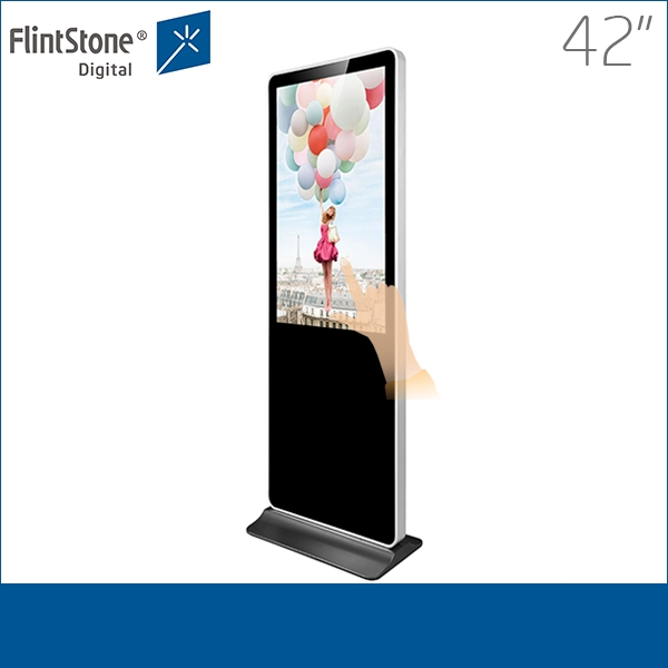 Vertical stand advertising player photos