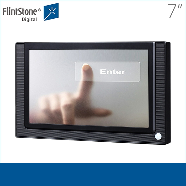 Touch screen advertising player photos