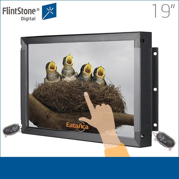 Open frame touch industrial display photos