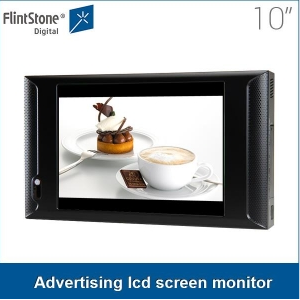 10 inch digital video signage screen indoor digital video signage monitor display for commercial sale