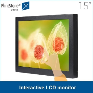 15 inch interactive LCD monitor, 15 inch LCD touch display