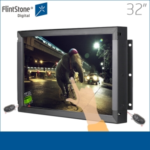 32 inch digital signage, digital advertising, touch screen monitor