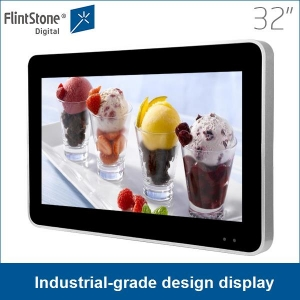 32 inch industrial-grade design LCD monitor commercial display