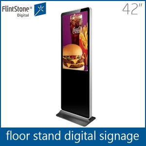 Shopping mall 42 inch floor stand digital signage advertising display