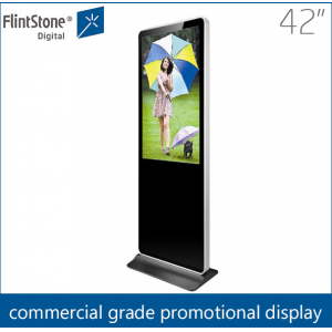 42 inch free standing digital signage,large digital display,kiosk media player
