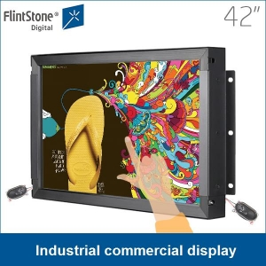 Touch screen da 42 pollici giocatore display advertising commerciale industriale