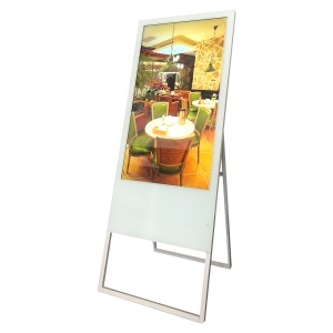 43 inch floor standing lcd digital signage screen