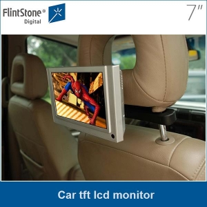 7 inch car tft lcd monitor with video input capacity