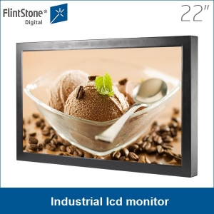 "industrial  22"" full HD LCD monitor, video monitor, digital signage monitor"