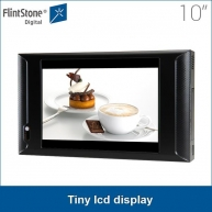 China 10 inch AD1005WP plastic casing point of sale video promotions wall mounted retail shop tiny lcd display factory