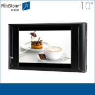 China 10 inch advertising tft lcd monitor, small size lcd video monitor, lcd video monitor with motion sensor factory