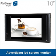 China 10 inch digital video signage screen indoor digital video signage monitor display for commercial sale factory