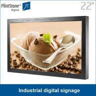 China 15 inch rich signal input retail store LCD monitor loop playing 24/7/365 factory
