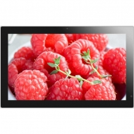 China 19 inch Android / Windows touch lcd advertising screen, wifi lcd video displays, internet digital signage factory