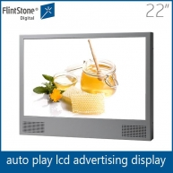 China 22 inch airport metro station perimeter advertising led display factory