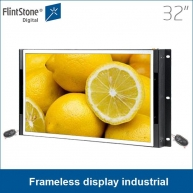 China 32 inch lcd panel hdmi, led panel rgb display,  android system open frame monitor factory