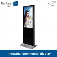 China 42 inch LCD screen commercial display industrial design auto-playing 24/7/365 factory