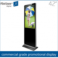 China 42 inch free standing digital signage,large digital display,kiosk media player factory
