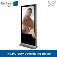 China 55 inch commerciële display advertising speler touch screen fabriek