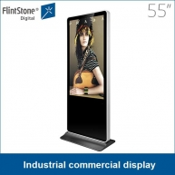 China 55 inch industry commercial display china advertising player supplier factory