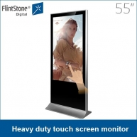 China 55 inch interactive touch screen,pos touch monitor,industrial touch factory