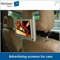China 7 inch advertising screens for cars/ taxi factory