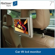 China 7 inch car tft lcd monitor with video input capacity factory