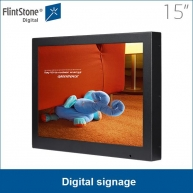 China Flintstones LCD advertising machine touch screen 17 inches factory
