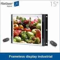 China Flush mount lcd monitor, panel mount lcd, pop displays factory