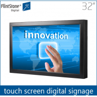 China Kiosk media player,touch screen signage,wall mounted advertising display factory