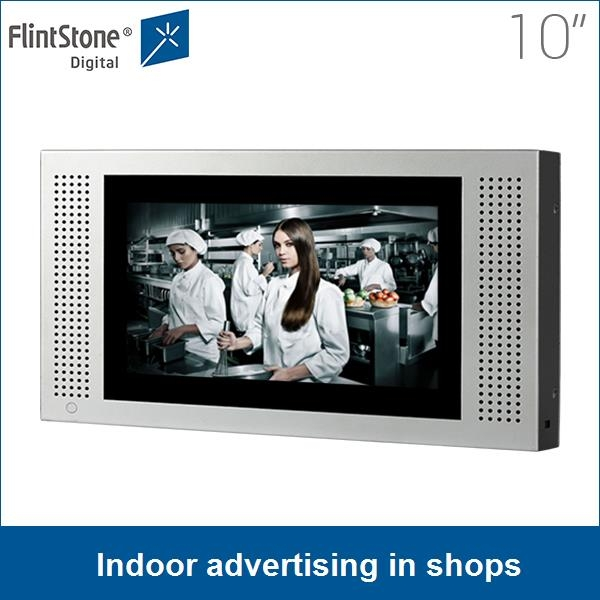 10 Inch Indoor Advertising In Shops Digital Signage Point