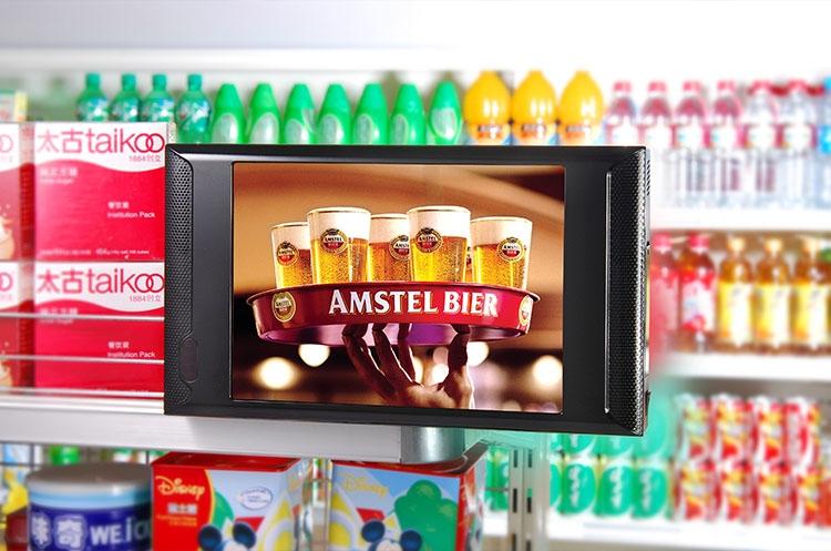 10 Quot Merchandising Ger 228 Te Regal Wandmontage Lcd Werbung