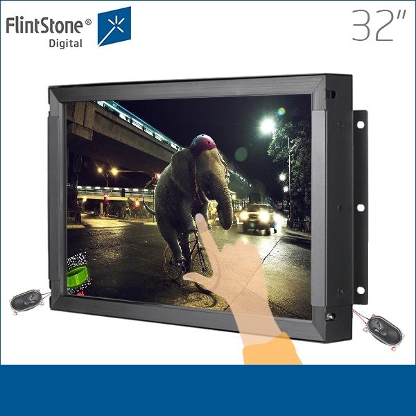 32 pulgadas de señalización digital, publicidad digital, monitor de ...