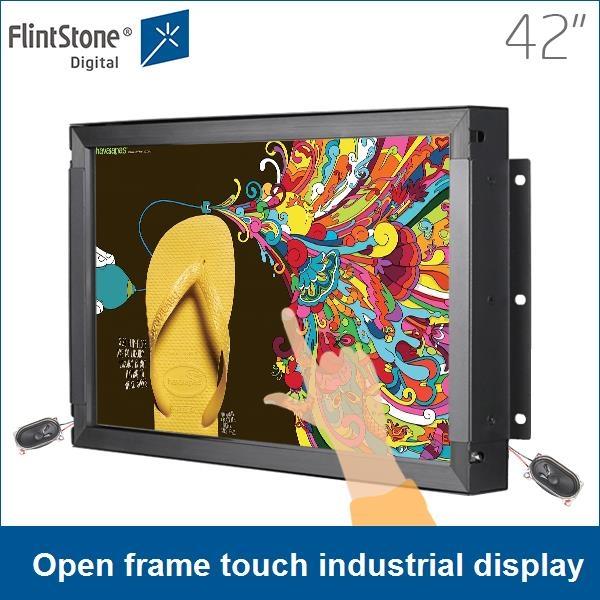 Monitor sin marco, montaje en panel del monitor, pantalla táctil grande