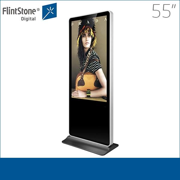 Pop 55 Inch Advertising Signs Digital Signage Digital